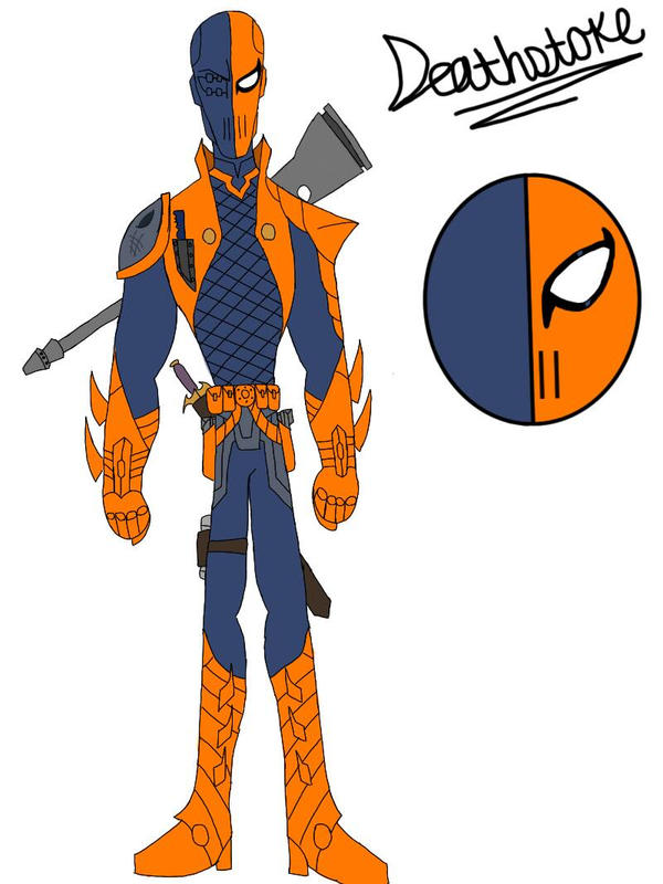 Deathstroke by bobert107