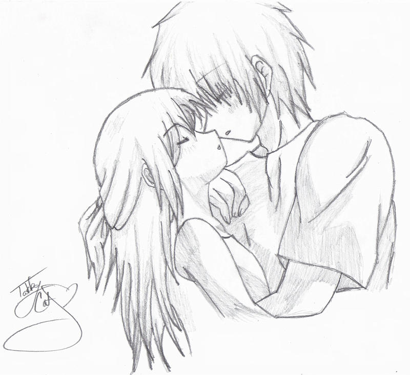 cute anime couples drawings. Cute Anime Couples Drawings.