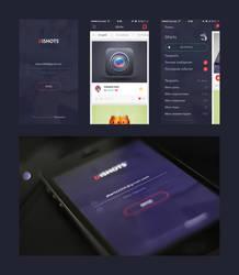 DiSHOTS Mobile UI