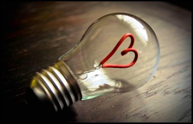 Как сделать сердечко в лампочке - Ванильный Носорог