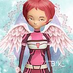 Aelita Code Lyoko Evolution Icon 2 By Believingiss by LSPhoenixWolf