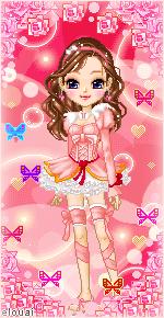 61. Pink rose by Erozja