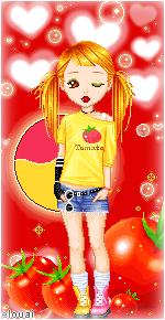 62. Tomato girl by Erozja