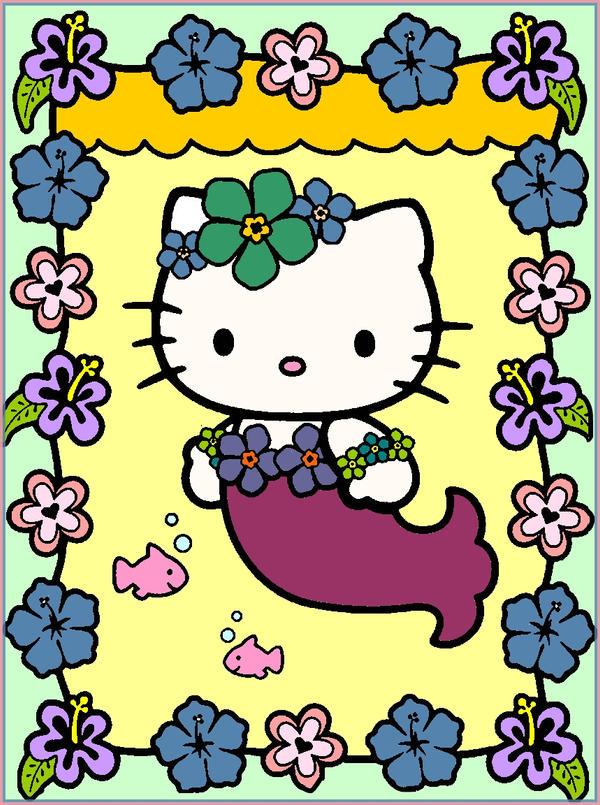 Hello kitty siren by erozja on deviantart - Hello kitty sirene ...