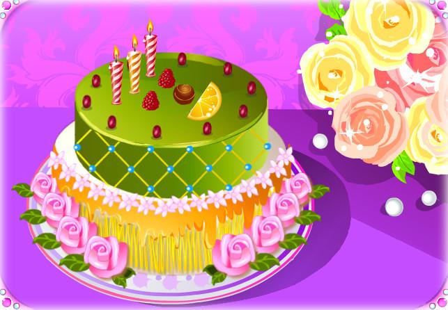 B-day cake - Happy Times by Erozja