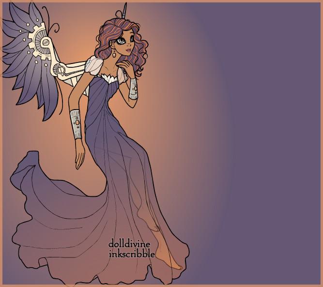 158. Steampunk angel by Erozja