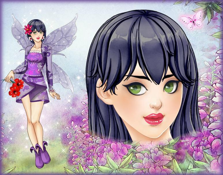 166. Spring joys - transformation of the butterfly by Erozja