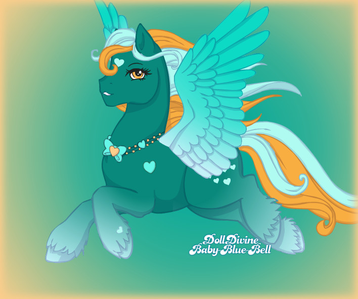 175. Magic pony - Heart by Erozja