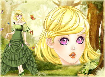 202. Spring joys - lost princess by Erozja
