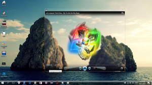 Windows Media Player Glass Remix
