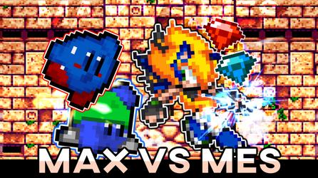 Mespaint vs Fahyda ! Kirby vs Sonic Animation ! by Mespaint