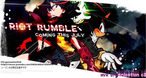 XVX RIOT RUMBLE SPRITE ANIMATION | SHADOW VS RYUKO by Mespaint