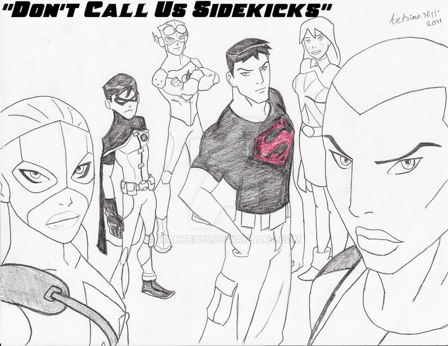 Young Justice Printable Best Of Coloring Pages: Young Justice By Wanted75 On DeviantArt