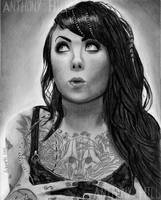 Megan Massacre Charcoal by Wanted75