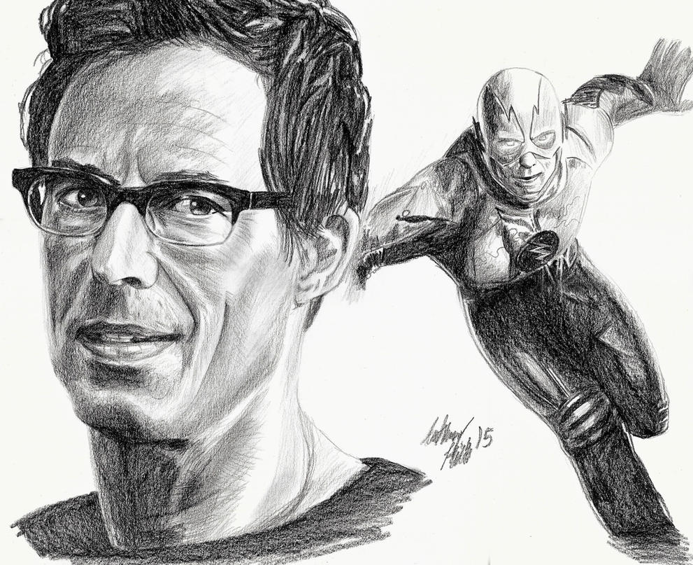 The Flash Line Art : Reverse flash harrison wells by wanted on deviantart