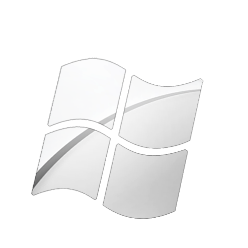 windows logo apple Chrome styl by BarLevi