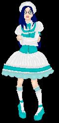 Ishida in blue by Embirsiphonelilathia
