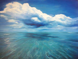 Infinite blue by Kokoro-koko