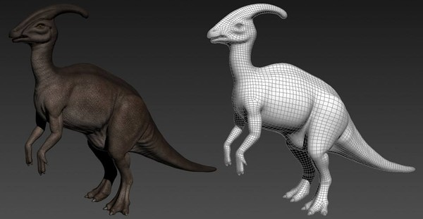 Jurassic Park Parasaurolophus by willloudermill on DeviantArt