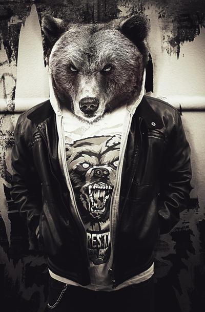 Heavy Metal Bear by UEY-S