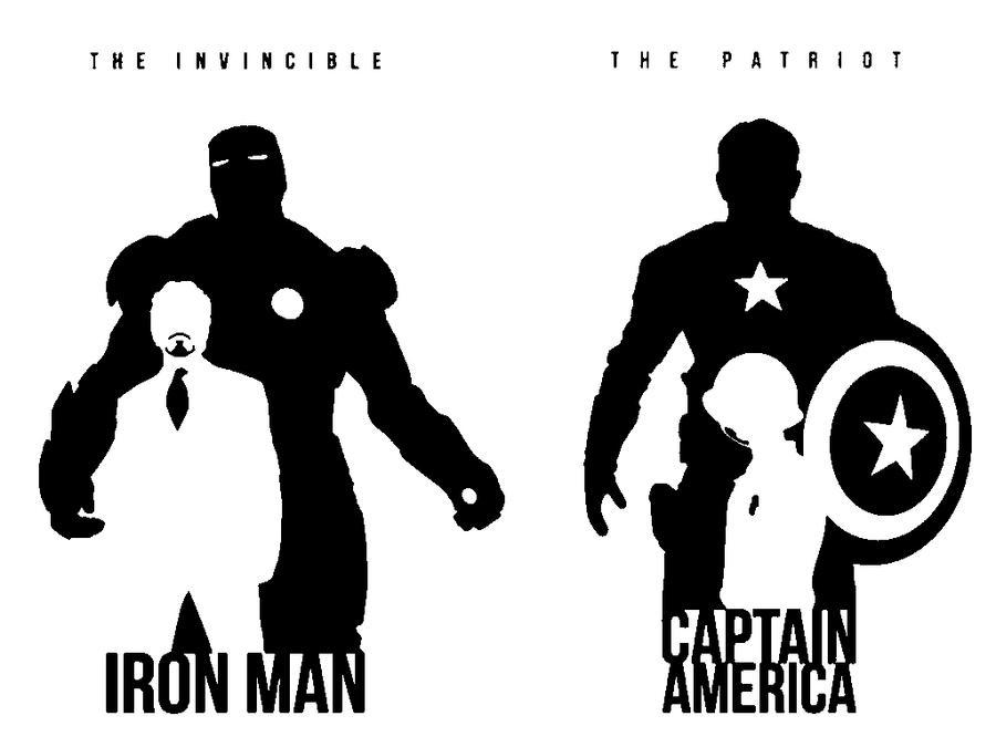 Captain And Iron By Terrorsmile On DeviantArt