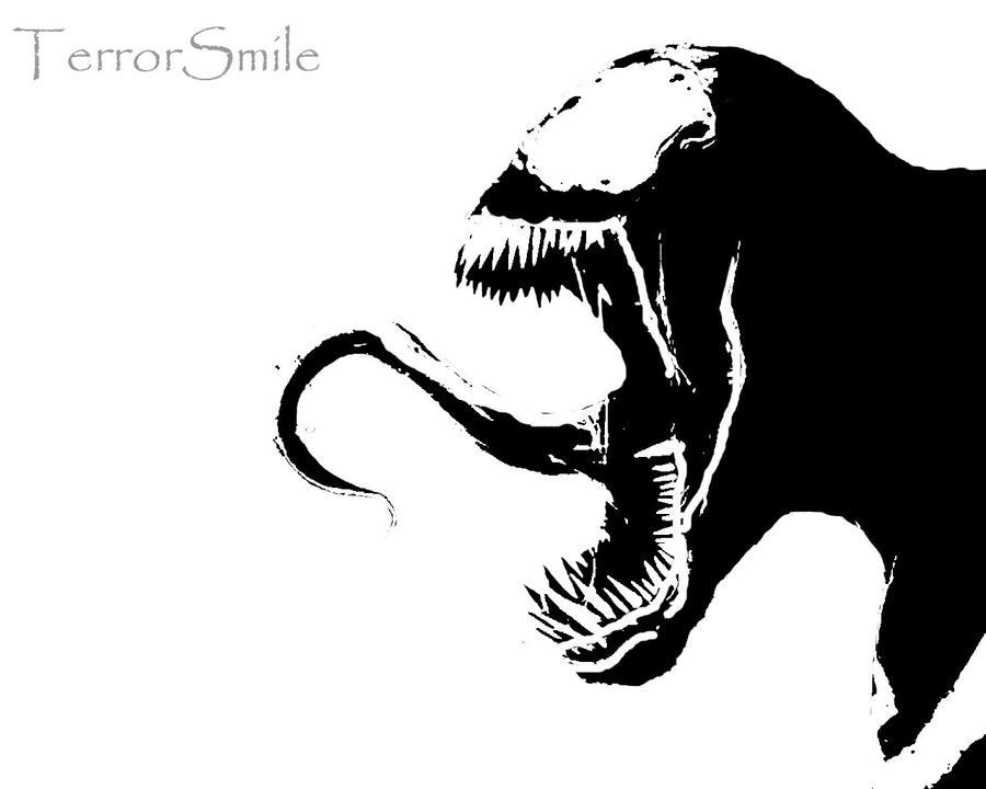 Venom Stencil By Terrorsmile On Deviantart