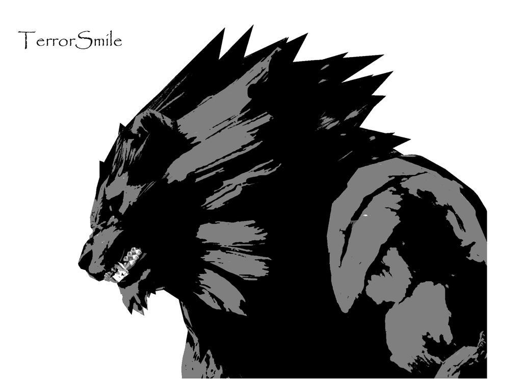 gado the lion Stencil by terrorsmile
