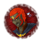 Linktober Day 22 Ganon/Ganondorf
