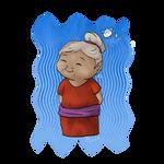 Linktober day 23 Grandma/elder