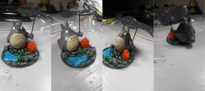 Totoro and Clacifer