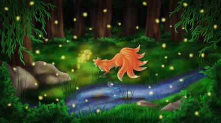 Landscape Practice with Fox