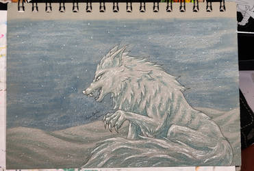 Linktober 2021 Shadow Calender - Day 20 Wolfos