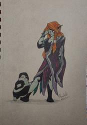 Linktober2021 Shadow Calender-Day24 Twili Creature