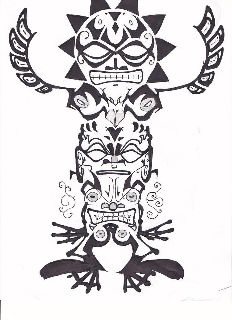 1000 images about tatuajes inspiraci n on pinterest totems totem poles and totem tattoo. Black Bedroom Furniture Sets. Home Design Ideas