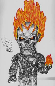 Ghost Rider-Robbie Reyes (Agents of S.H.I.E.L.D.)