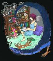The great experience of reading by Awkward-Hermit