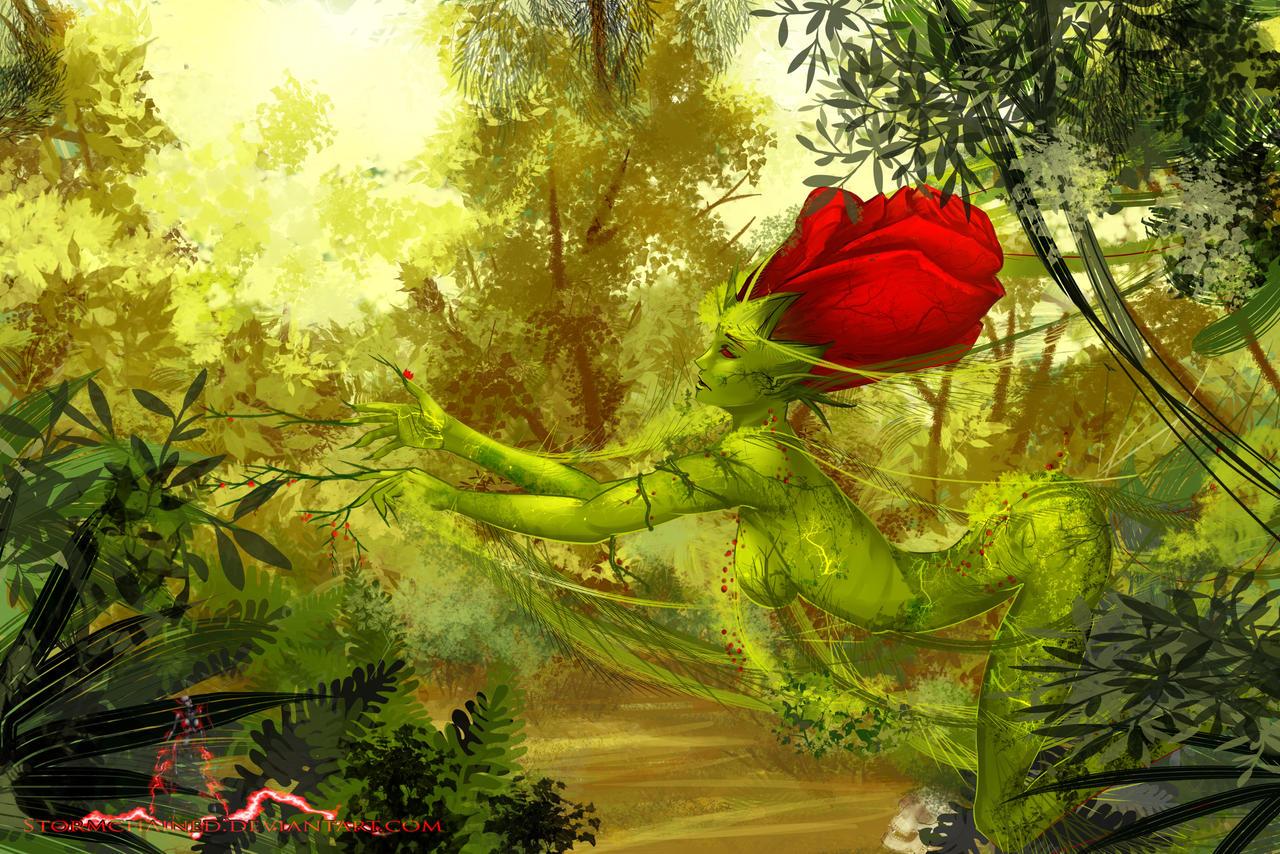 Wild Flower Too Wild by Audranasa