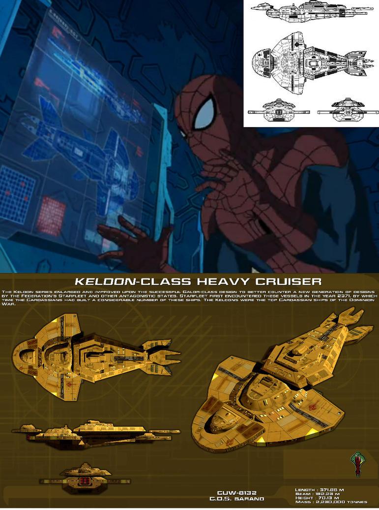 Keldon class in Spiderman? by Ryuseimaru