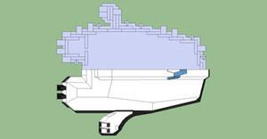 Silenvo Rimworld Starship - Half Half