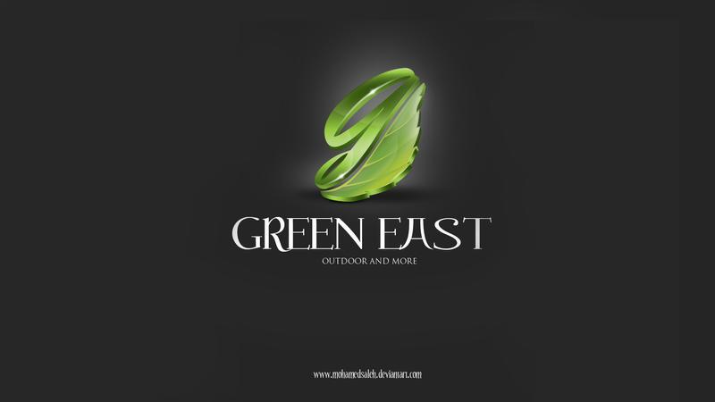 Green East Logo by mohamedsaleh
