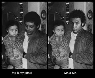 ME AND MY FATHER by mohamedsaleh