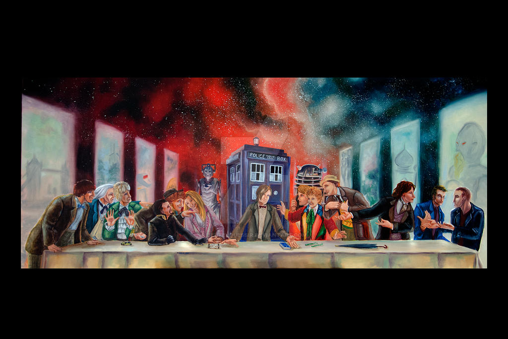 Doctor Who Last Supper Parody