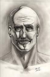 Portrait: Aidan by teutelquessir