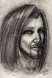 Portrait IV: Zhalar by teutelquessir