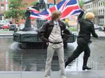 England Photobomb