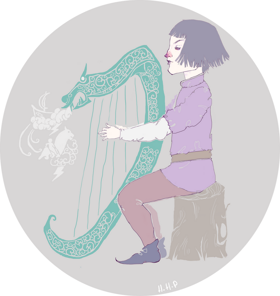 The Harp by hatthecat123