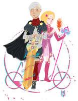 Spera-Magical Girls Fan Art by hatthecat123