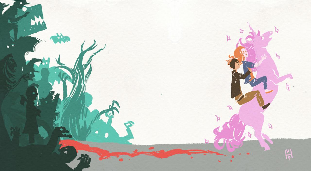 Cabin in the Woods-fan art by hatthecat123