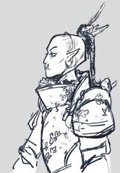 Half Orc Sketch