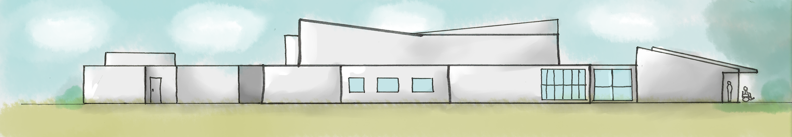 Hospice East Elevation by the-scowling-cat
